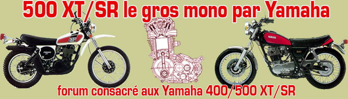 500 XT/SR le gros mono par Yamaha